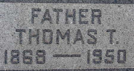 SANDY, THOMAS T - Warren County, Iowa | THOMAS T SANDY