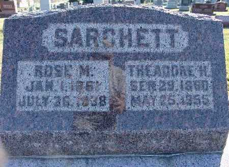 SARCHETT, THEODORE H. - Warren County, Iowa | THEODORE H. SARCHETT