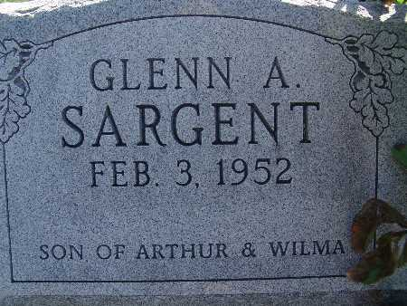 SARGENT, GLENN A - Warren County, Iowa | GLENN A SARGENT