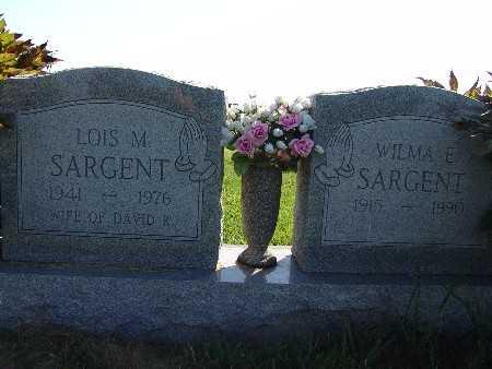 SARGENT, WILMA E. - Warren County, Iowa | WILMA E. SARGENT