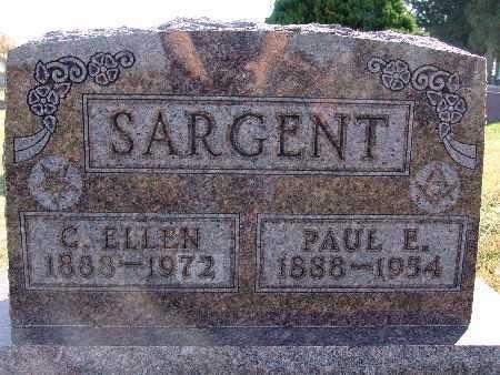 SARGENT, PAUL E. - Warren County, Iowa | PAUL E. SARGENT