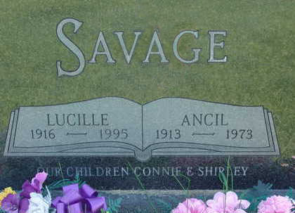 SAVAGE, ANCIL - Warren County, Iowa | ANCIL SAVAGE
