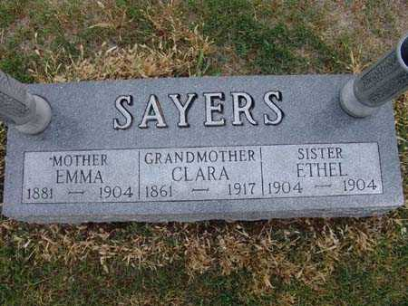 SAYERS, ETHEL - Warren County, Iowa | ETHEL SAYERS