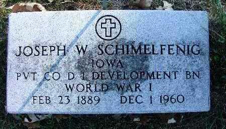 SCHIMELFENIG, JOSEPH W. - Warren County, Iowa | JOSEPH W. SCHIMELFENIG