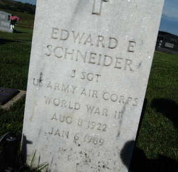 SCHNEIDER, EDWARD E. - Warren County, Iowa | EDWARD E. SCHNEIDER