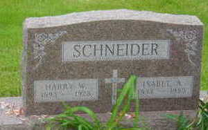 SCHNEIDER, HARRY W - Warren County, Iowa | HARRY W SCHNEIDER