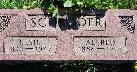 SCHRODER, ALFRED - Warren County, Iowa | ALFRED SCHRODER