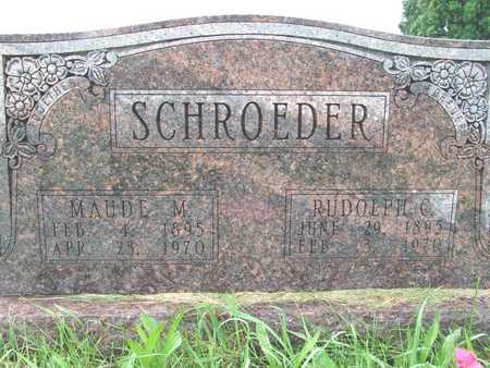 SCHROEDER, MAUDE M - Warren County, Iowa | MAUDE M SCHROEDER