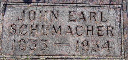 SCHUMACHER, JOHN EARL - Warren County, Iowa | JOHN EARL SCHUMACHER