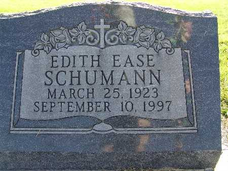 SCHUMANN, EDITH EASE - Warren County, Iowa | EDITH EASE SCHUMANN