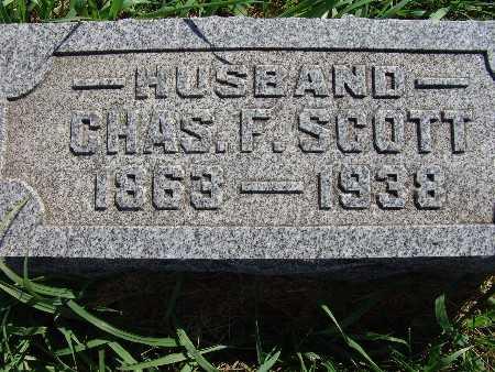SCOTT, CHAS F. - Warren County, Iowa   CHAS F. SCOTT