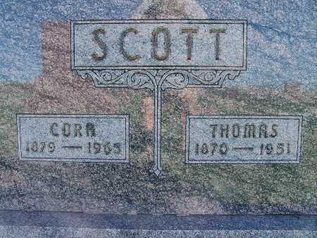 SCOTT, CORA - Warren County, Iowa | CORA SCOTT