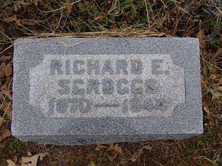 SCROGGS, RICHARD E. - Warren County, Iowa | RICHARD E. SCROGGS