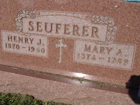 SEUFERER, MARY A. - Warren County, Iowa | MARY A. SEUFERER