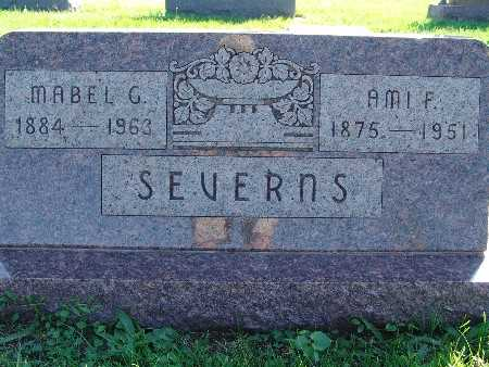 SEVERNS, MABEL G - Warren County, Iowa | MABEL G SEVERNS
