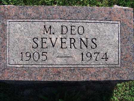 SEVERNS, M DEO - Warren County, Iowa | M DEO SEVERNS