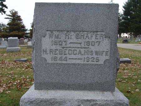 SHAFER, H. REBECCA - Warren County, Iowa | H. REBECCA SHAFER