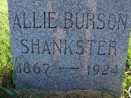 SHANKSTER, ALLIE BURSON - Warren County, Iowa | ALLIE BURSON SHANKSTER