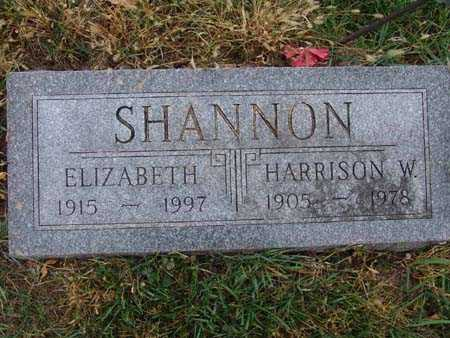 SHANNON, HARRISON W. - Warren County, Iowa | HARRISON W. SHANNON
