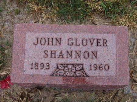 SHANNON, JOHN GLOVER - Warren County, Iowa | JOHN GLOVER SHANNON