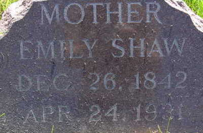 SHAW, EMILY - Warren County, Iowa | EMILY SHAW