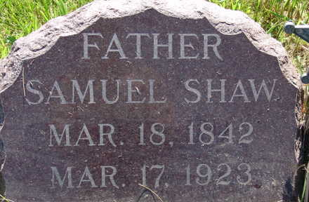 SHAW, SAMUEL - Warren County, Iowa | SAMUEL SHAW