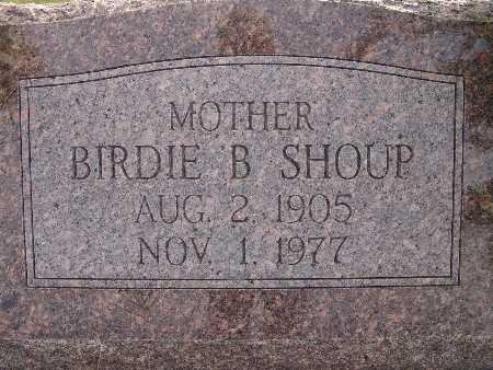 SHOUP, BIRDIE B. - Warren County, Iowa | BIRDIE B. SHOUP