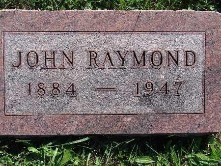 SHUPE, JOHN RAYMOND - Warren County, Iowa | JOHN RAYMOND SHUPE
