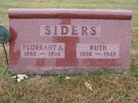 SIDERS, FLORRANT A. - Warren County, Iowa | FLORRANT A. SIDERS