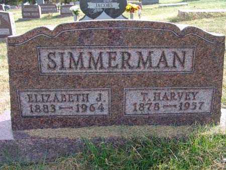 SIMMERMAN, T. HARVEY - Warren County, Iowa | T. HARVEY SIMMERMAN