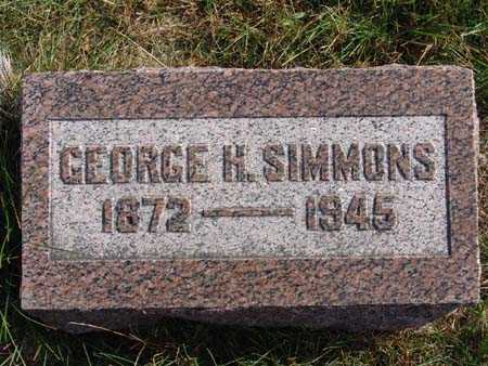SIMMONS, GEORGE H. - Warren County, Iowa | GEORGE H. SIMMONS