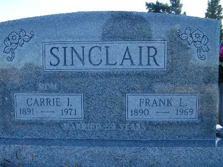 SINCLAIR, CARRIE I - Warren County, Iowa | CARRIE I SINCLAIR
