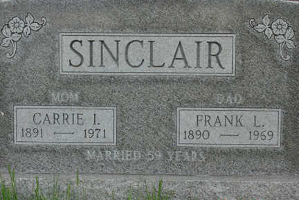 SINCLAIR, CARRIE I. - Warren County, Iowa | CARRIE I. SINCLAIR