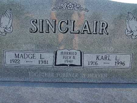 SINCLAIR, KARL L. - Warren County, Iowa | KARL L. SINCLAIR