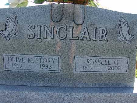 STORY SINCLAIR, OLIVE M. - Warren County, Iowa | OLIVE M. STORY SINCLAIR