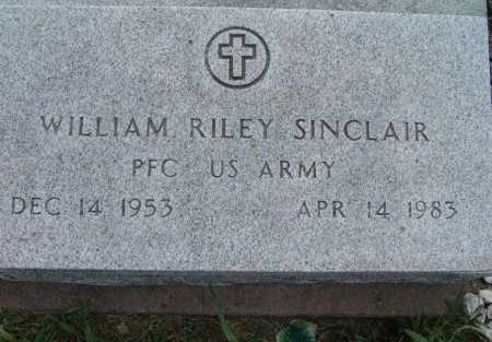 SINCLAIR, WILLIAM RILEY - Warren County, Iowa | WILLIAM RILEY SINCLAIR