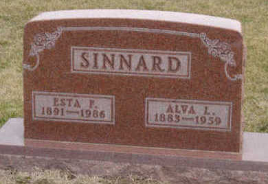SINNARD, ESTA F - Warren County, Iowa | ESTA F SINNARD