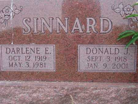 SINNARD, DARLENE E. - Warren County, Iowa | DARLENE E. SINNARD