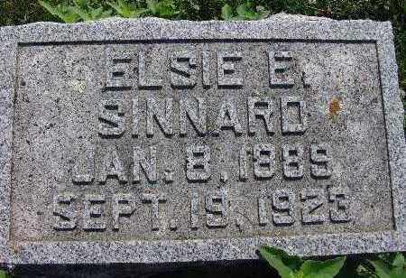 SINNARD, ELSIE E. - Warren County, Iowa | ELSIE E. SINNARD