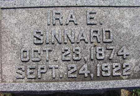 SINNARD, IRA E. - Warren County, Iowa | IRA E. SINNARD