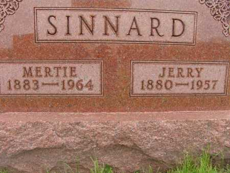 SINNARD, MERTIE - Warren County, Iowa | MERTIE SINNARD