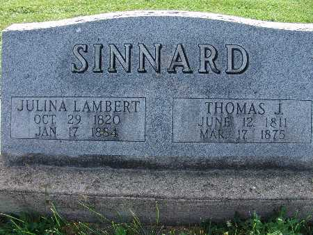 SINNARD, JULINA - Warren County, Iowa | JULINA SINNARD