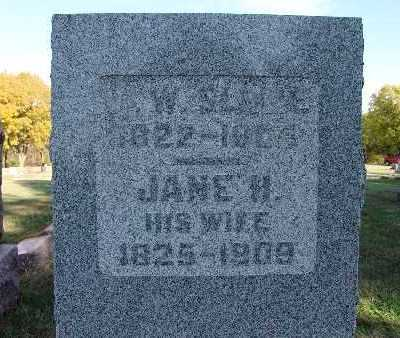 SLONE, JANE H. - Warren County, Iowa | JANE H. SLONE