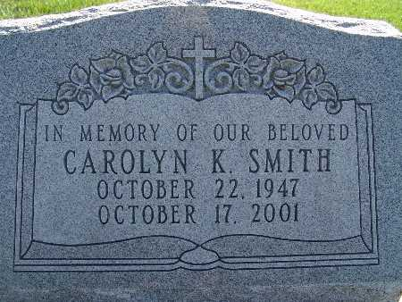 SMITH, CAROLYN K. - Warren County, Iowa | CAROLYN K. SMITH