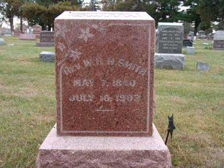 SMITH, REV. W. H. H. - Warren County, Iowa   REV. W. H. H. SMITH