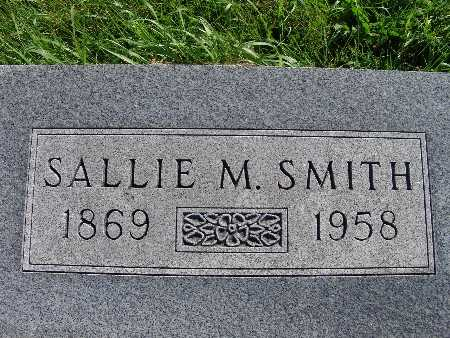 SMITH, SALLIE M. - Warren County, Iowa | SALLIE M. SMITH