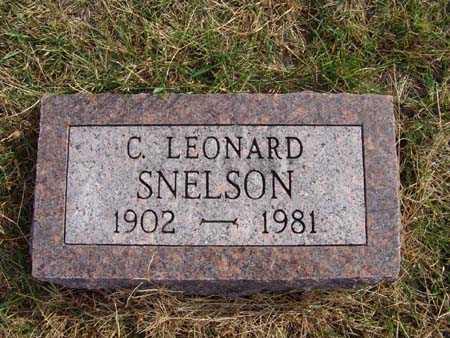 SNELSON, C. LEONARD - Warren County, Iowa | C. LEONARD SNELSON