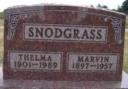 SNODGRASS, THELMA - Warren County, Iowa | THELMA SNODGRASS