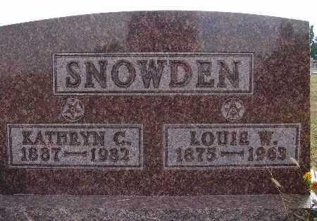 SNOWDEN, LOUIE W. - Warren County, Iowa | LOUIE W. SNOWDEN
