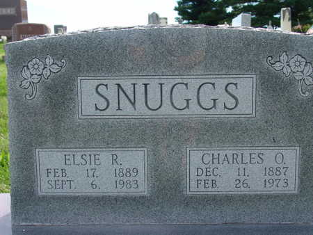 SNUGGS, CHARLES O - Warren County, Iowa | CHARLES O SNUGGS